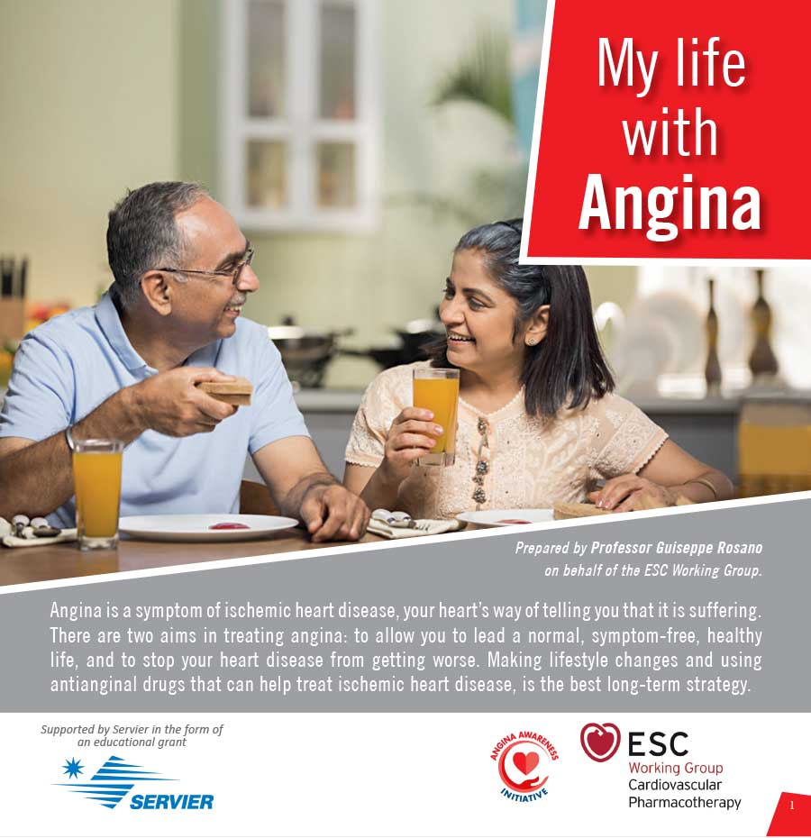 My Life with Angina | Patient Education Booklet | Angina Awareness India