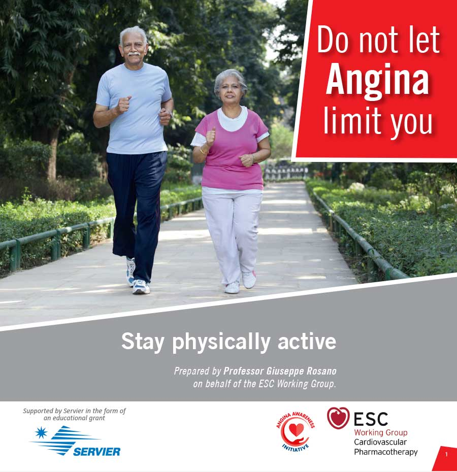 Do not let Angina limit you | Patient Education Booklet | Angina Awareness India