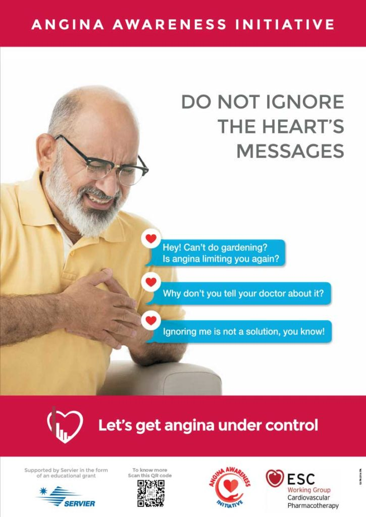 Gardening Poster | Angina Awareness India